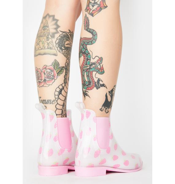 Sugar Thrillz In A Jam Rain Boots