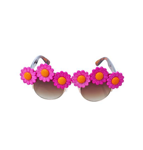 Gasoline Glamour Sunflower Coco Sunglasses
