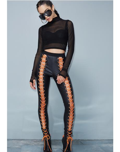 Backseat Nancy Corset Leggings