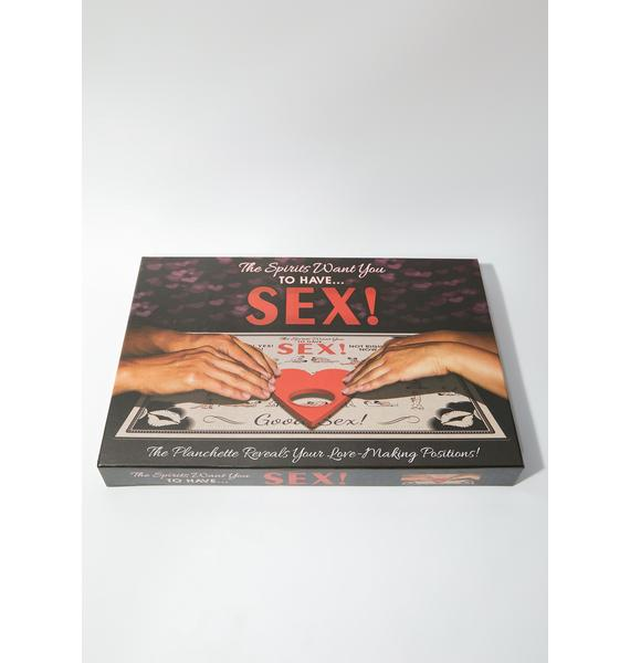 The Spirits Want You To Have Sex Board Game