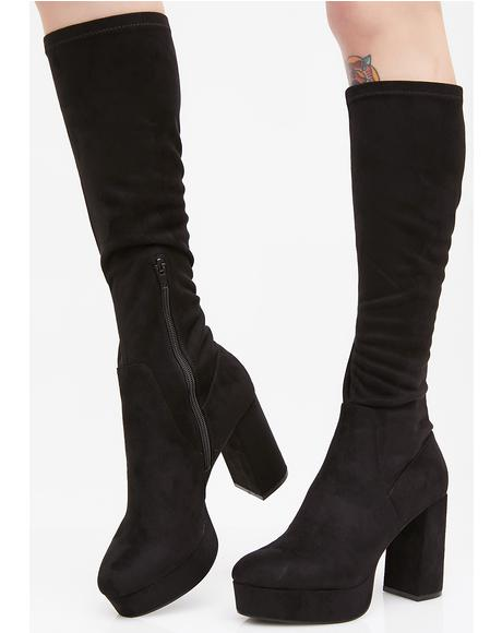 Nancy Suede Boots