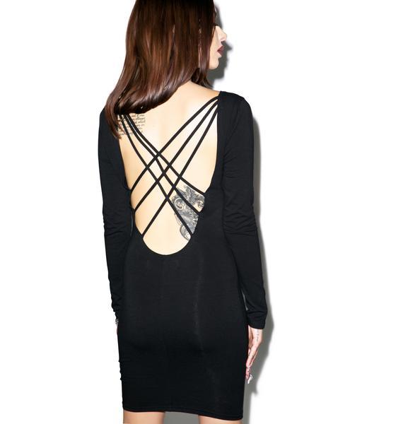 Fingers Crossed Dress