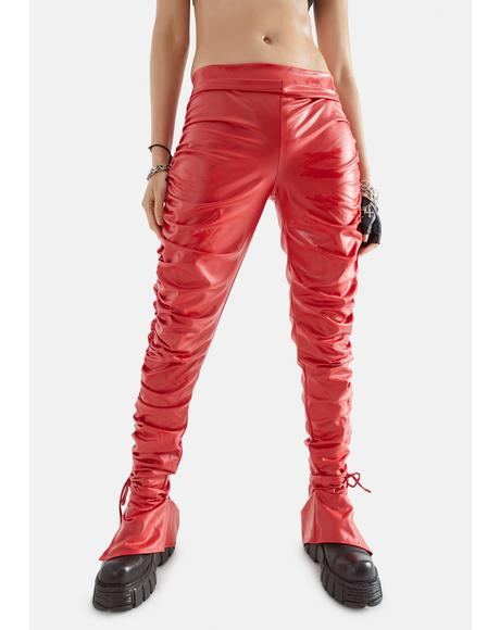 Feelin' Spicy Ruched Pants