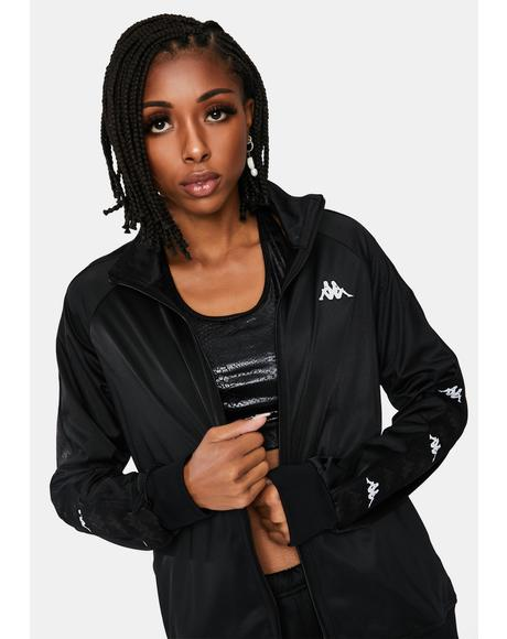 Black 222 Banda Blaston Track Jacket