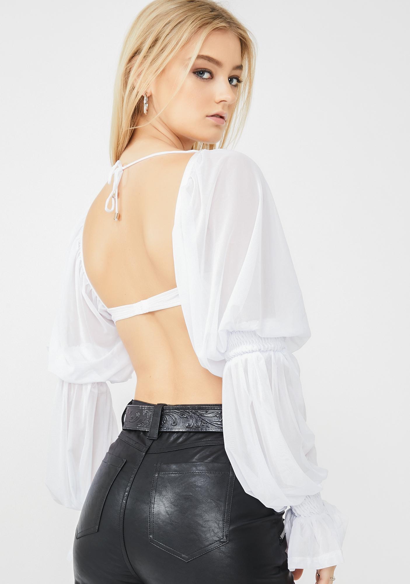 ZYA Lolita Top