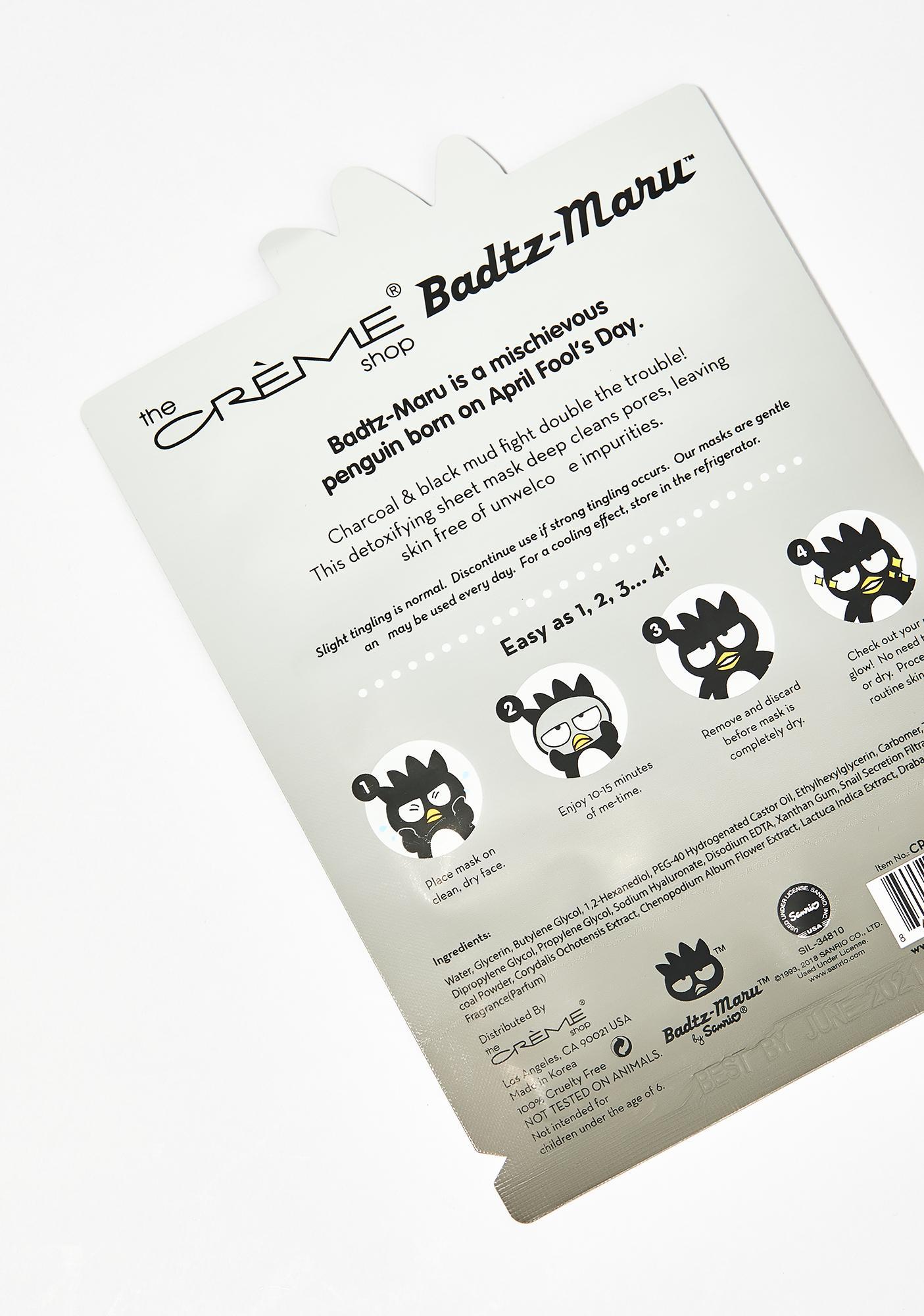 The Crème Shop Detox Rocks Badtz-Maru Mask