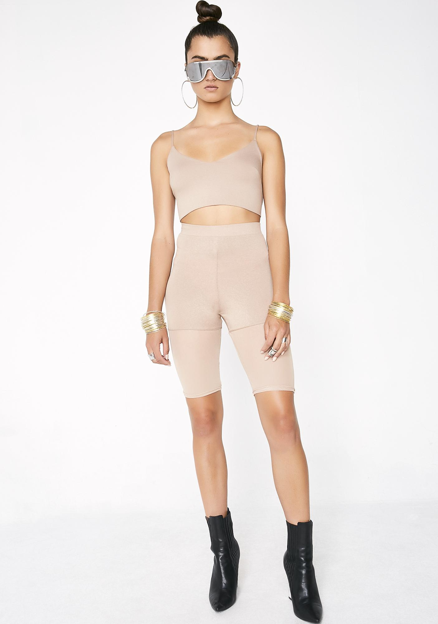 Stay Flossy Crop Top