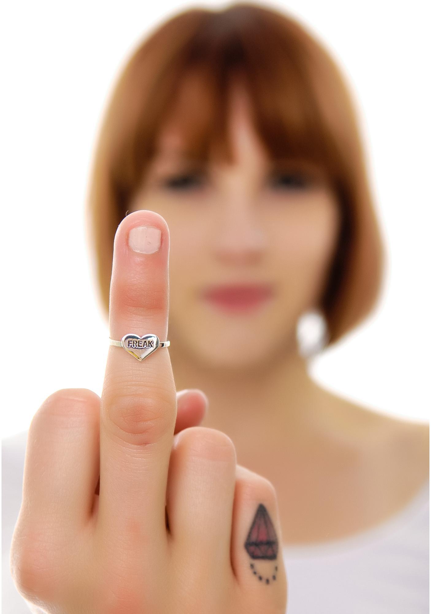 Freak Midi Ring