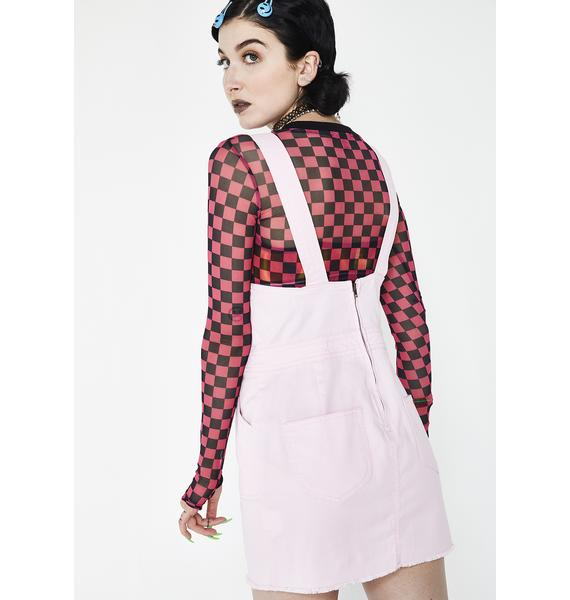 Dickies Girl Sweet Overall Dress