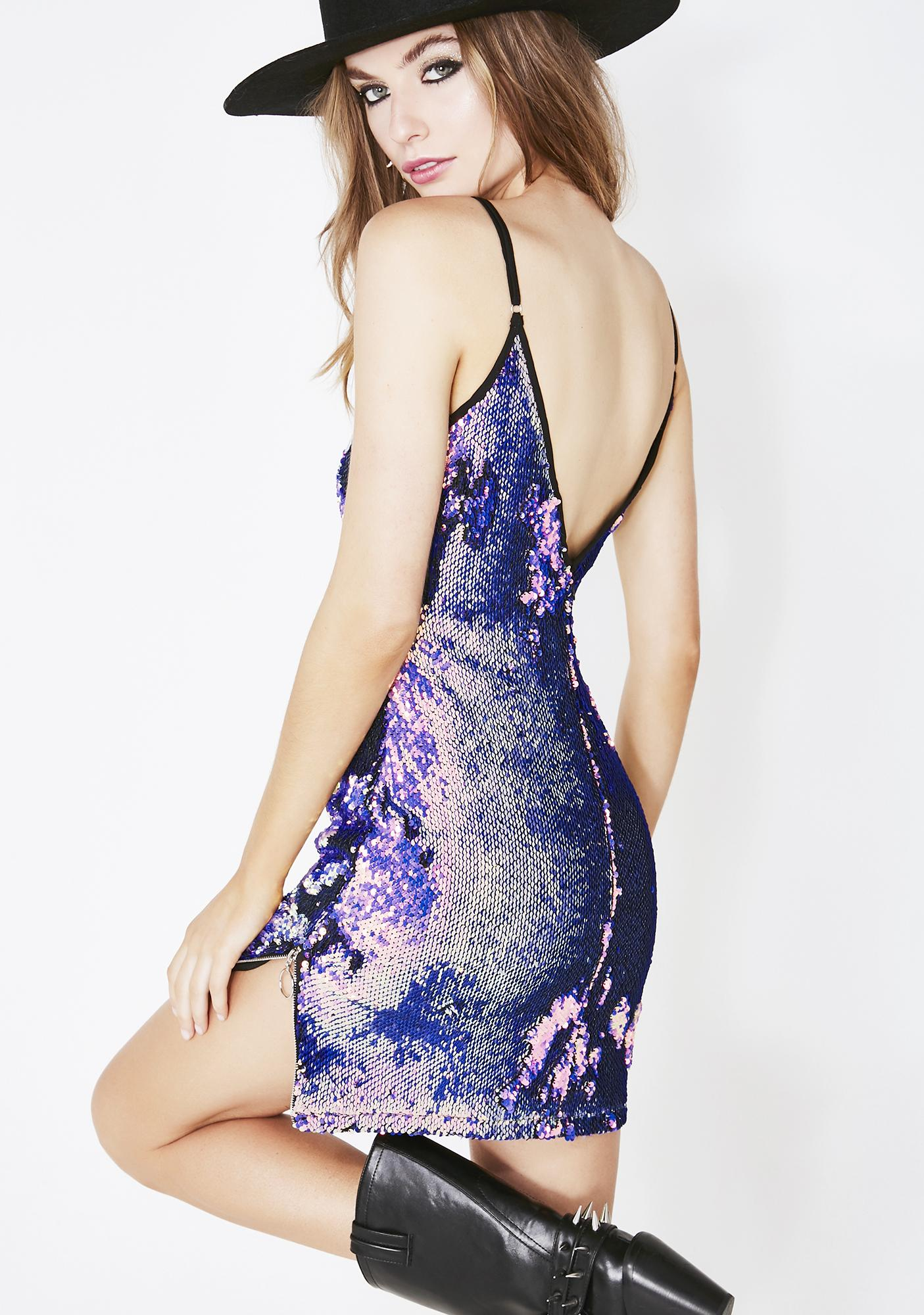 The Countdown Sequin Mini Dress