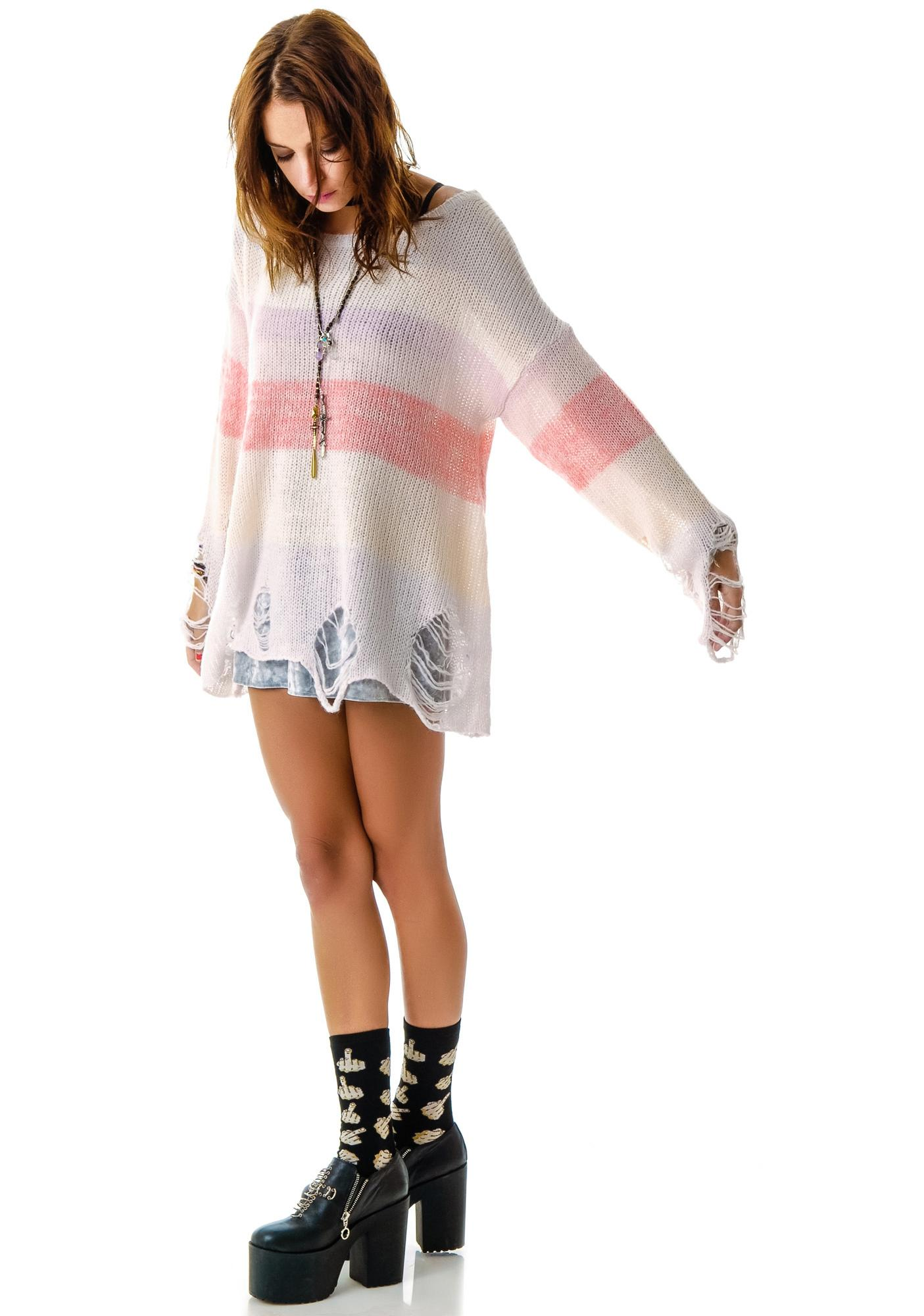 Wildfox Couture Popsicle Lennon Sweater