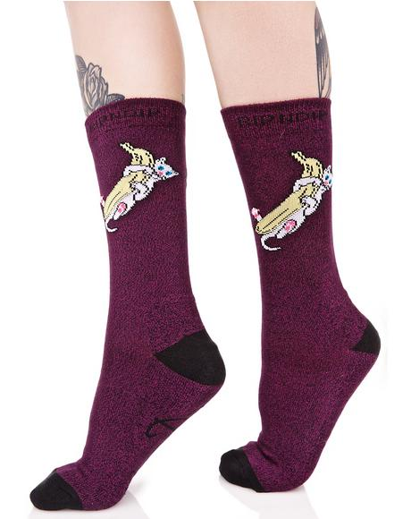 Nermal Banana Socks