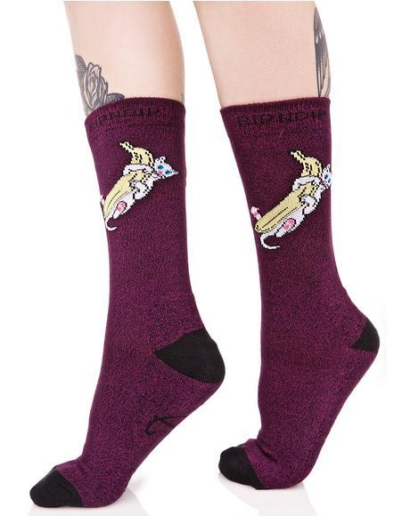 Nermal Banana Socks