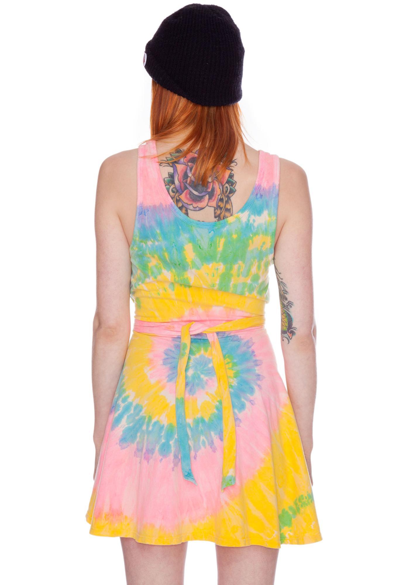 UNIF Deadstock Tie Dye Dress