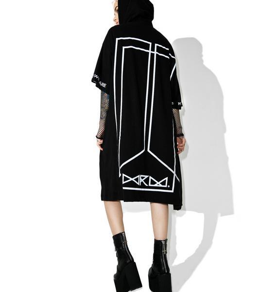We Are Mortals Kimono Hoodie
