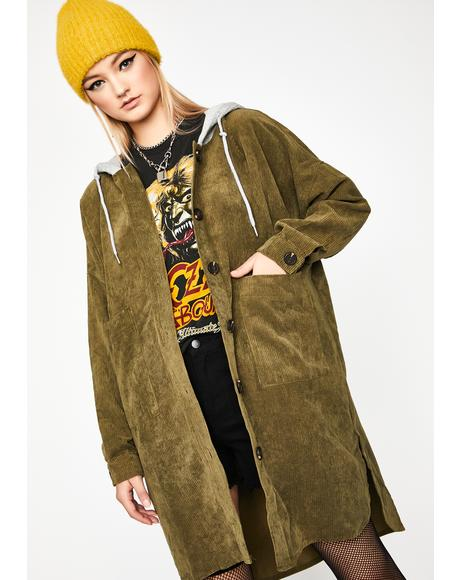 Underground Local Corduroy Coat