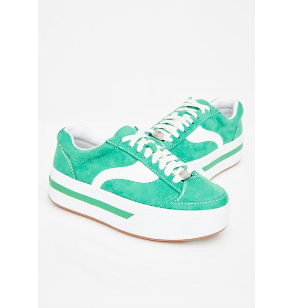 dELiA*s by Dolls Kill Whats My Age Again Skater Sneakers