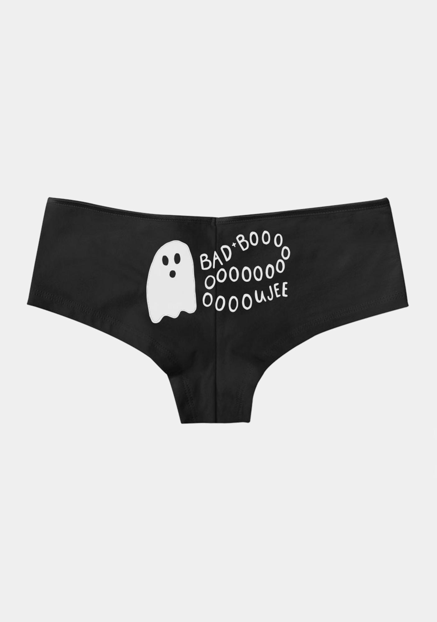 Femfetti Bad & Boojie Ghost Boy Short Undies