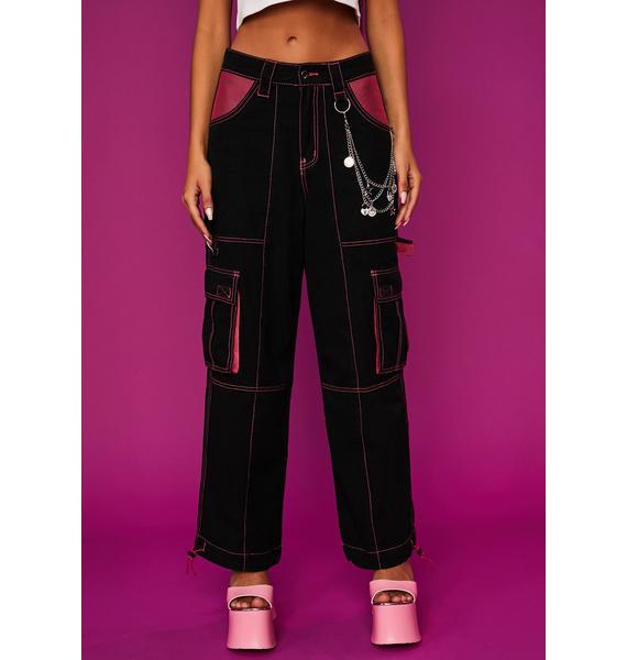 Dolls Kill x Bratz Who I Wanna Be Cargo Pants