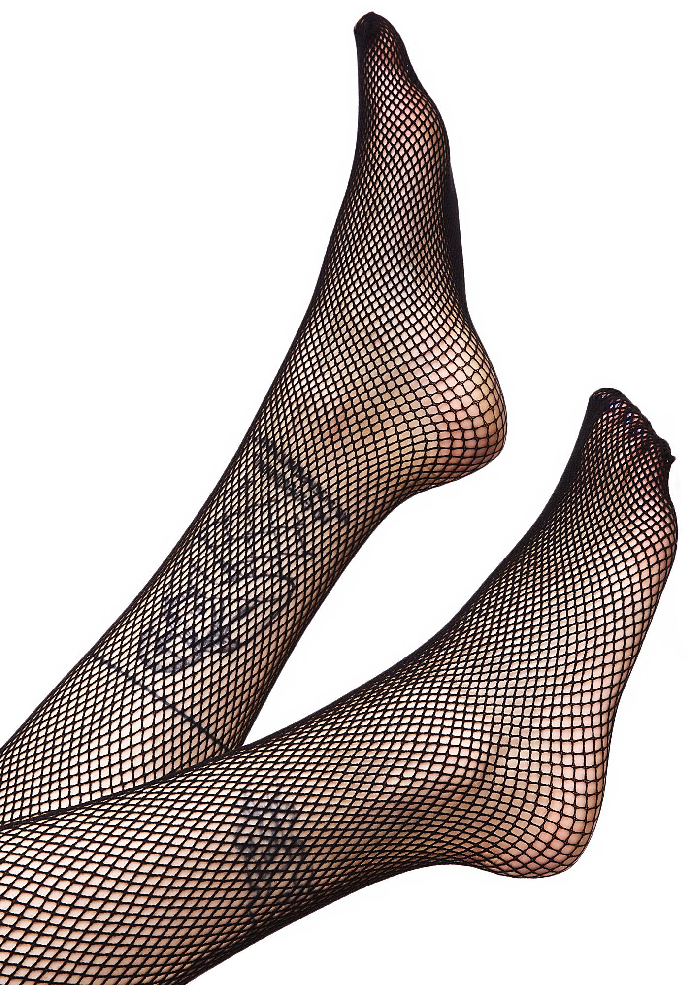 Everyday Slay Fishnet Thigh Highs