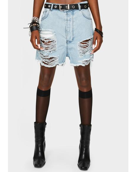 Always On Trend Denim Shorts