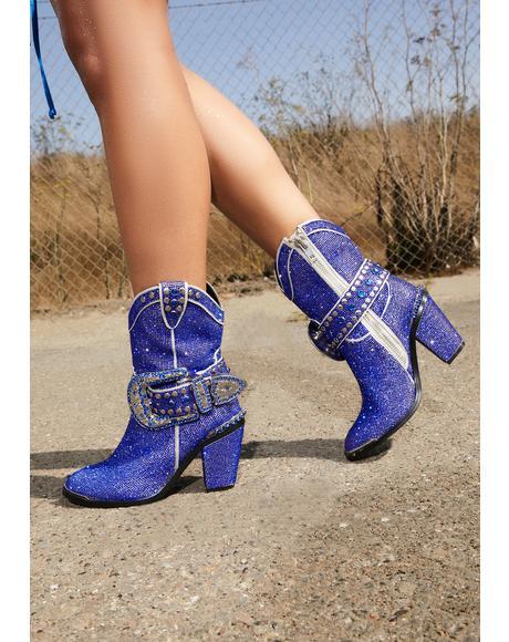 Royal Sheriff Shine Cowboy Boots