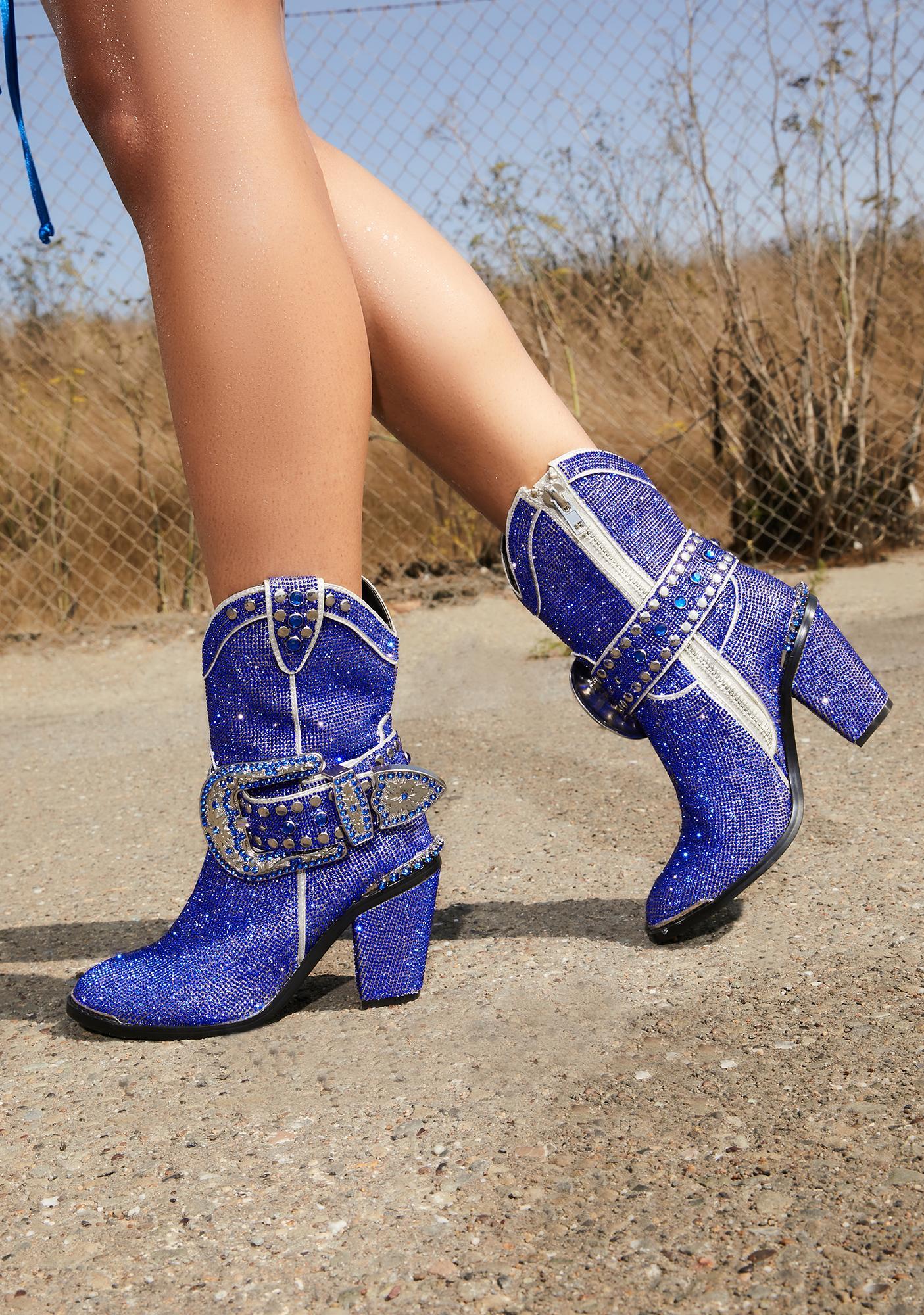Club Exx Royal Sheriff Shine Cowboy Boots
