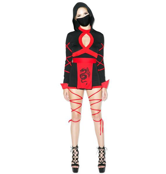 Enter The Dragon Ninja Costume
