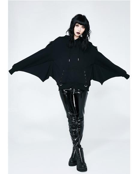 Asmodeus Bat Hoodie