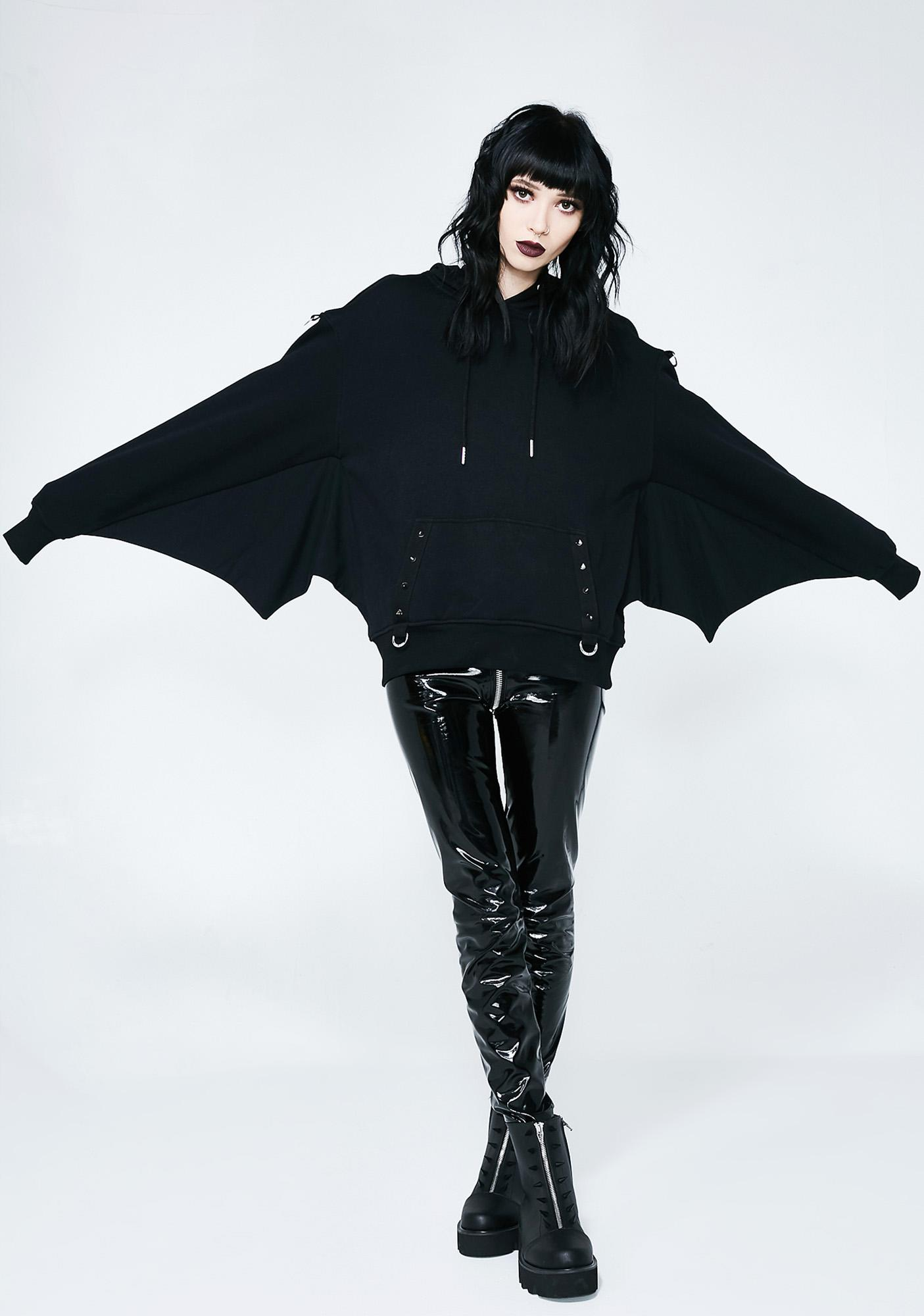Bat hoodie