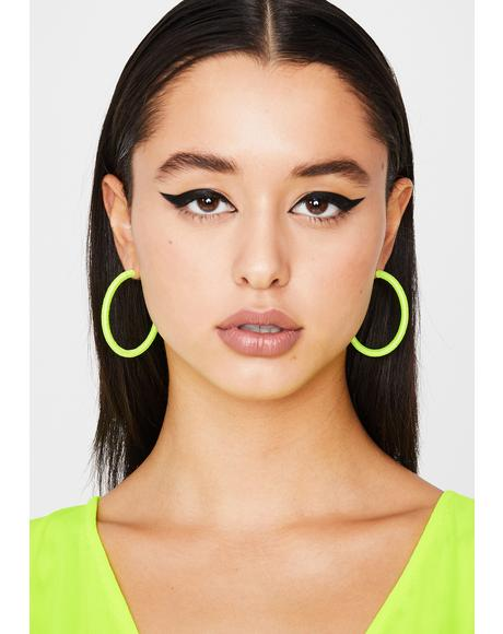Do Me Right Hoop Earrings