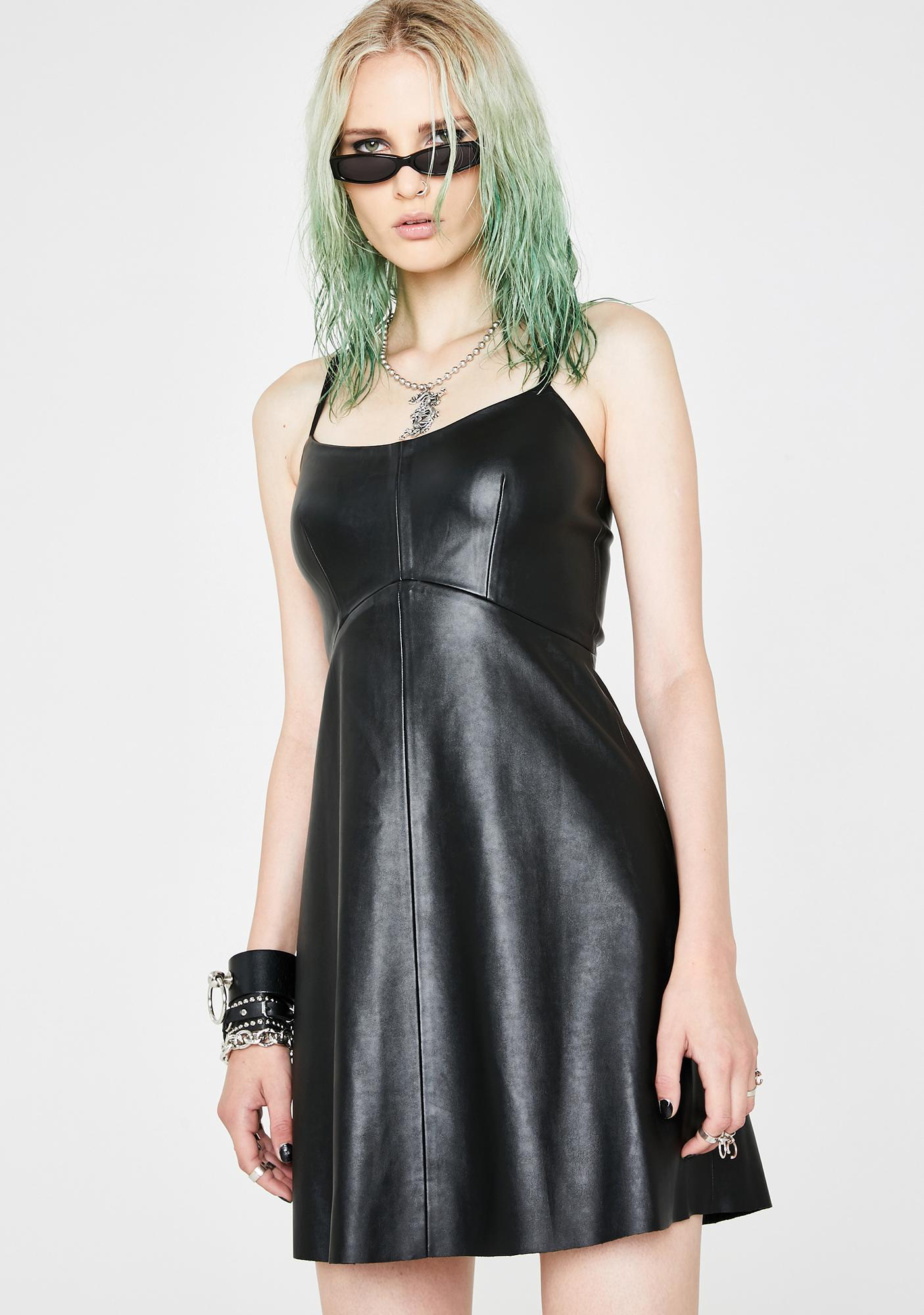 Current Mood Off Topic Mini Dress