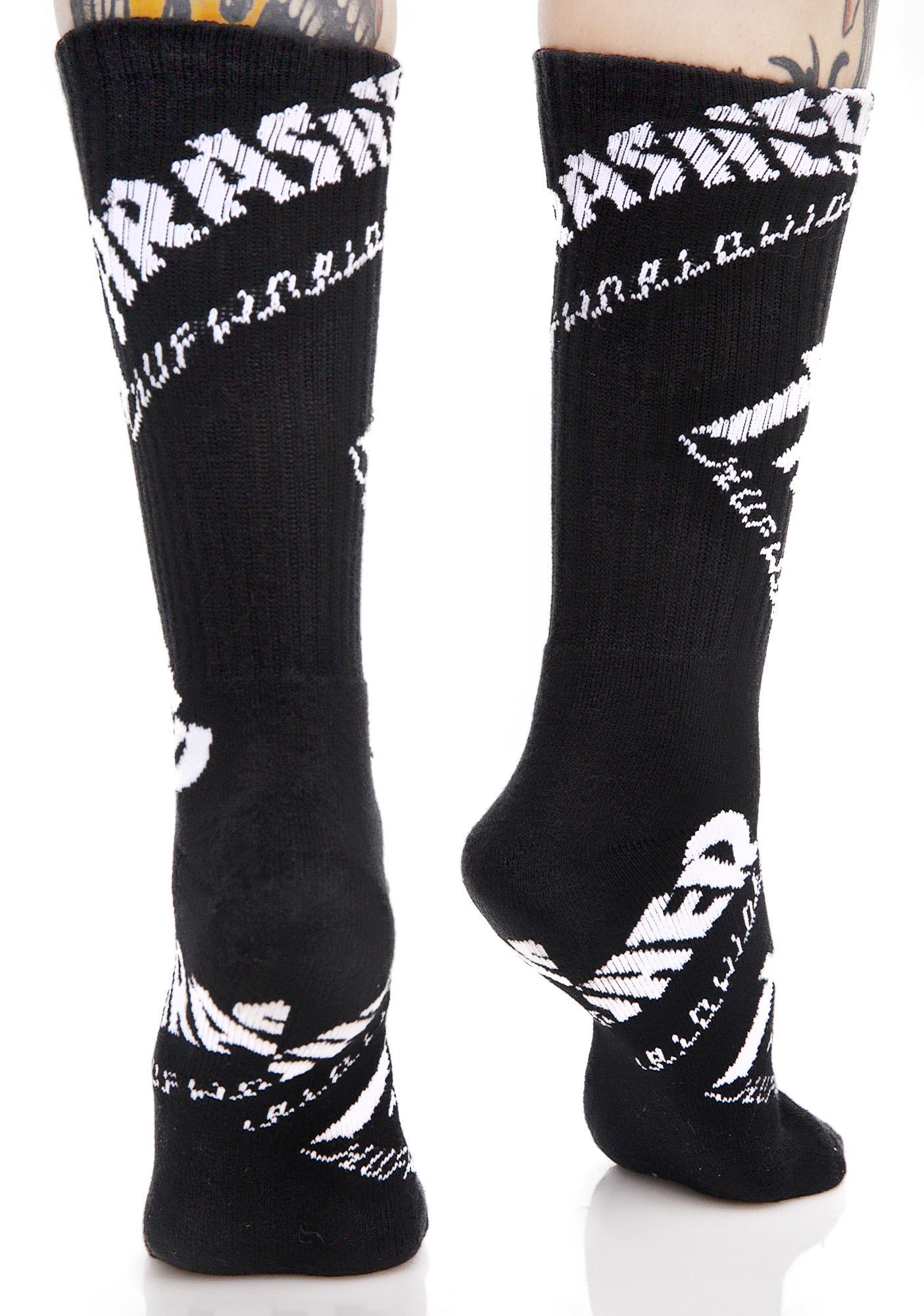 HUF Thrasher TDS Crew Socks