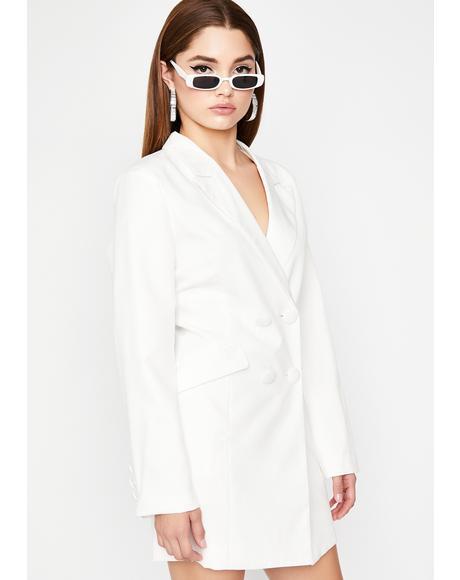 Boardroom Babe Blazer Dress
