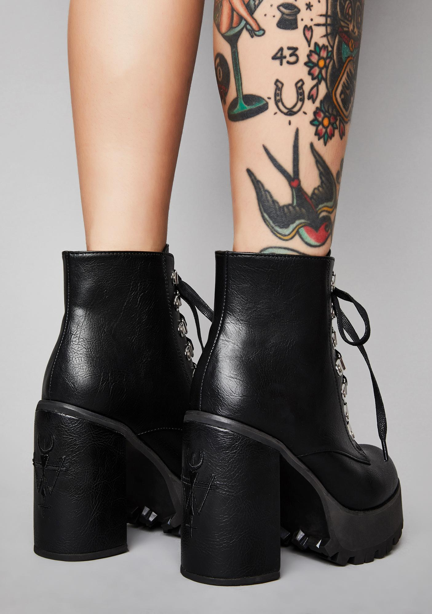 Widow Dante's Inferno Ankle Boots