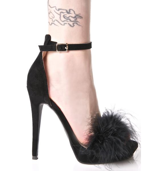 Tickler Fluffy Heels