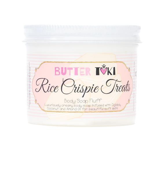 Butter Toki Rice Crispie Treats Soap Fluff