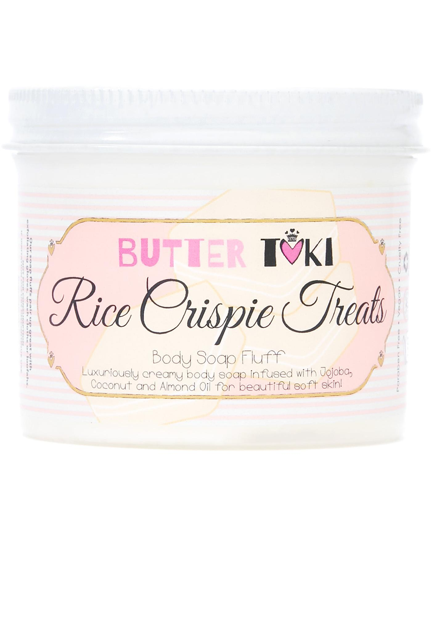 Butter Toki Rice Crispie Treats Soap Fluff