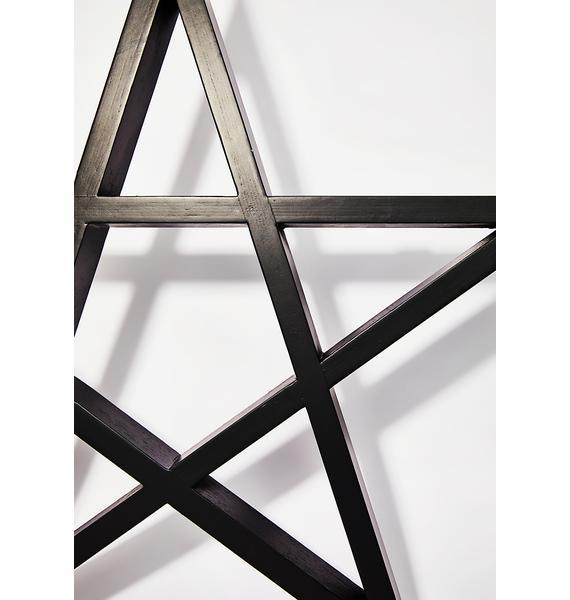 Killstar Pentagram Display Shelf
