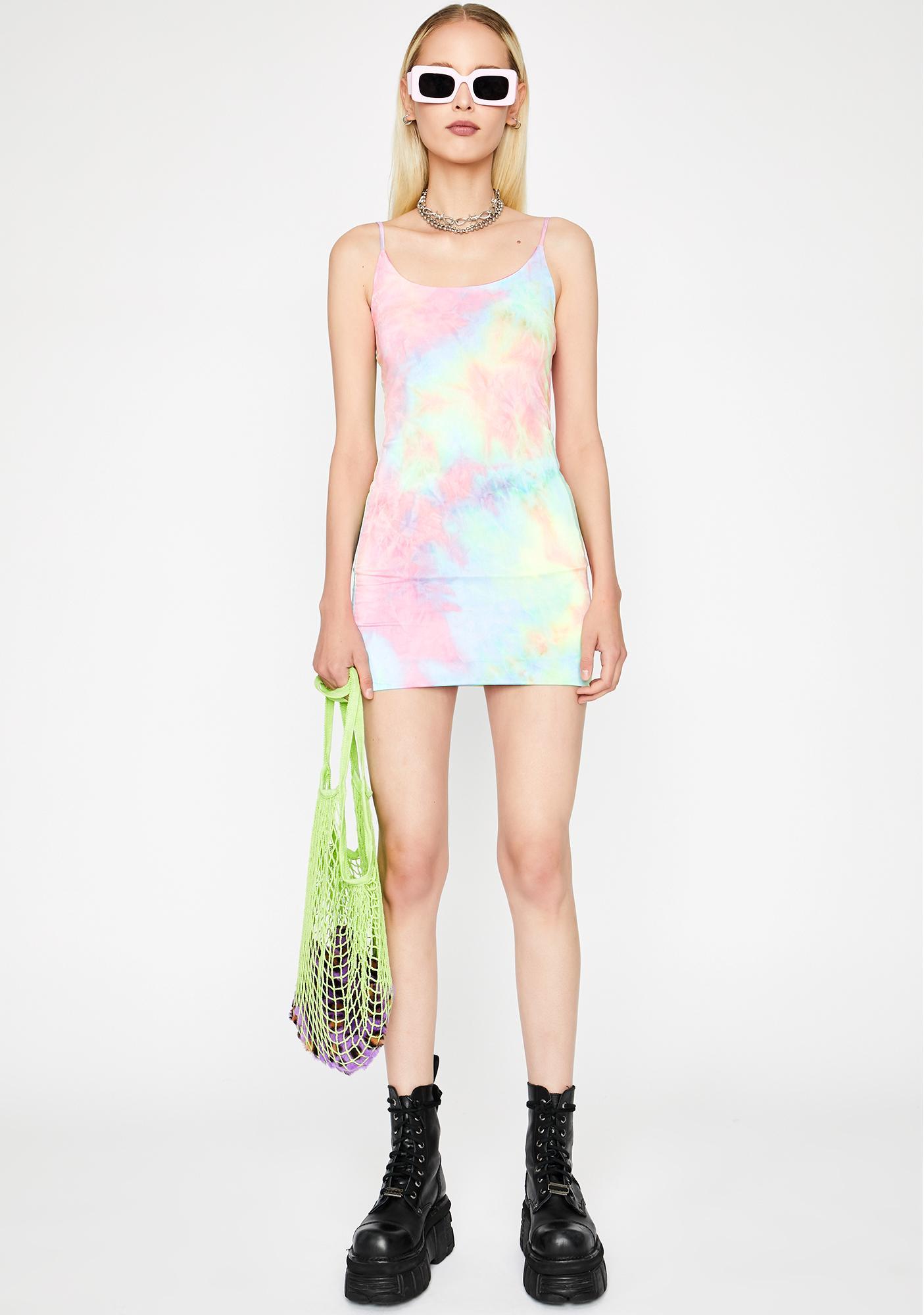 Stellar Sweet Tart Mini Dress