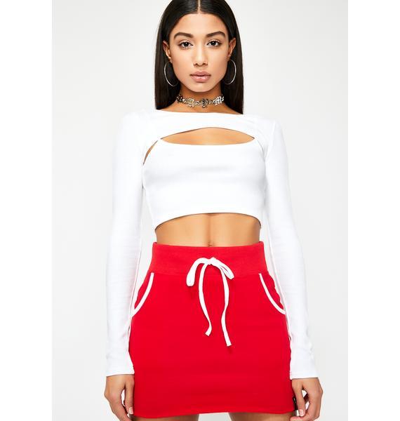 Poster Grl Squad Goals Sweatshirt Skirt