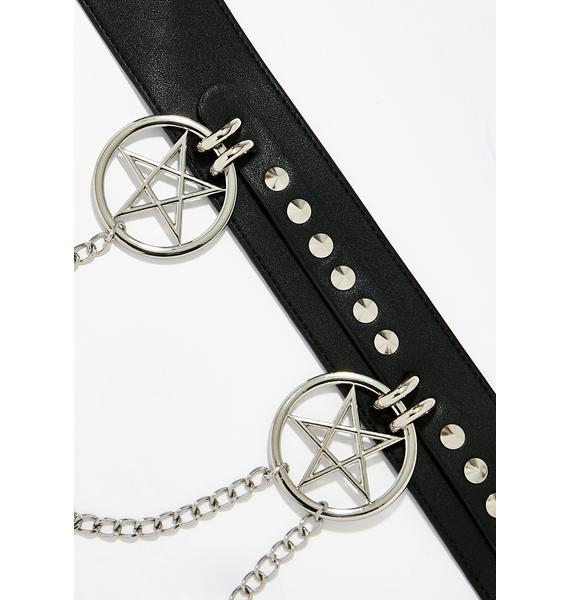 Killstar Curses Chain Belt