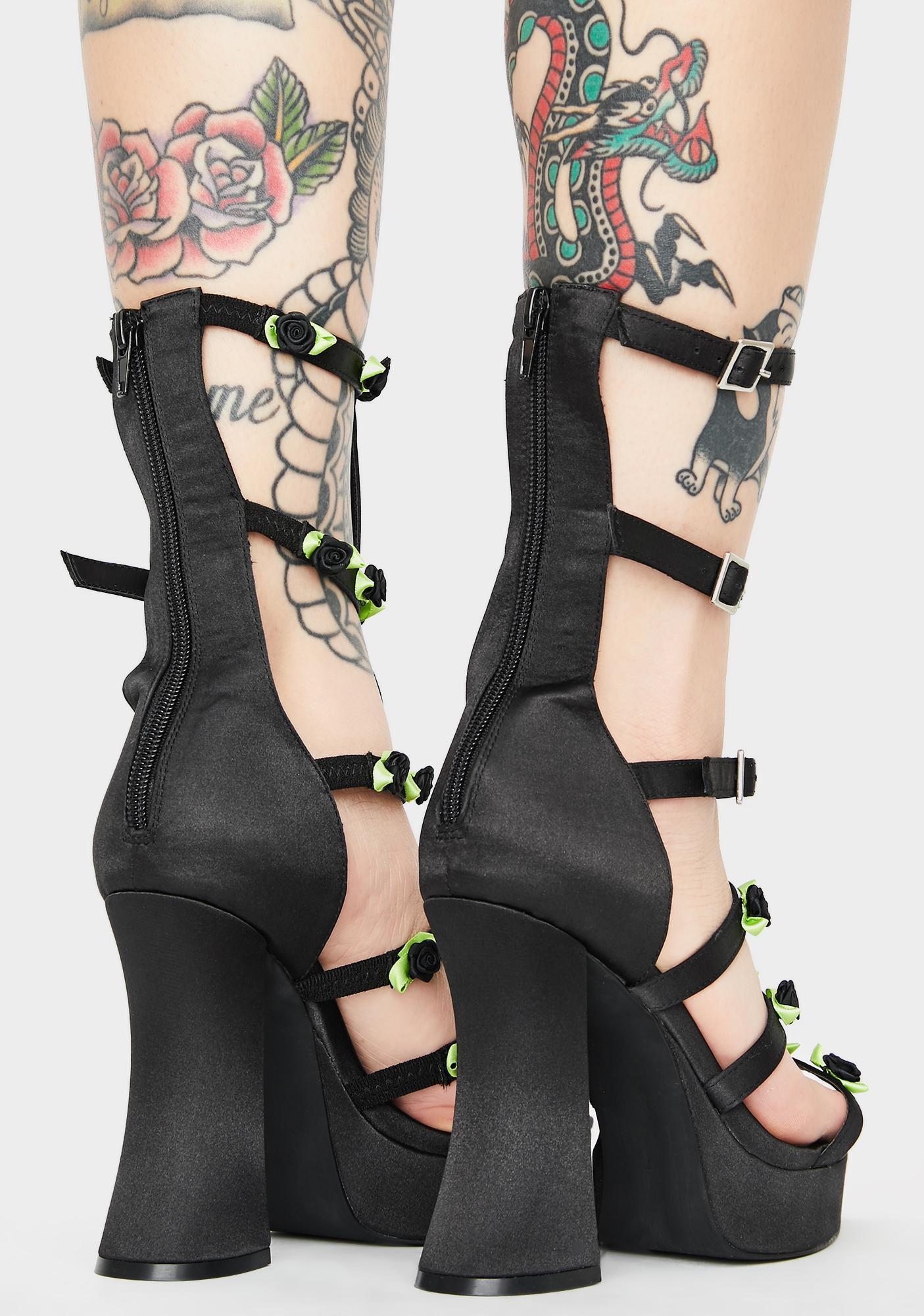 Sugar Thrillz Softcore Thorn Caged Heels
