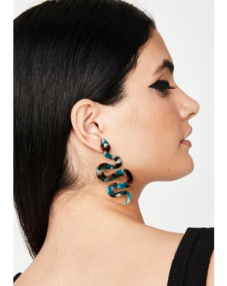 Ritual Revenge Snake Earrings