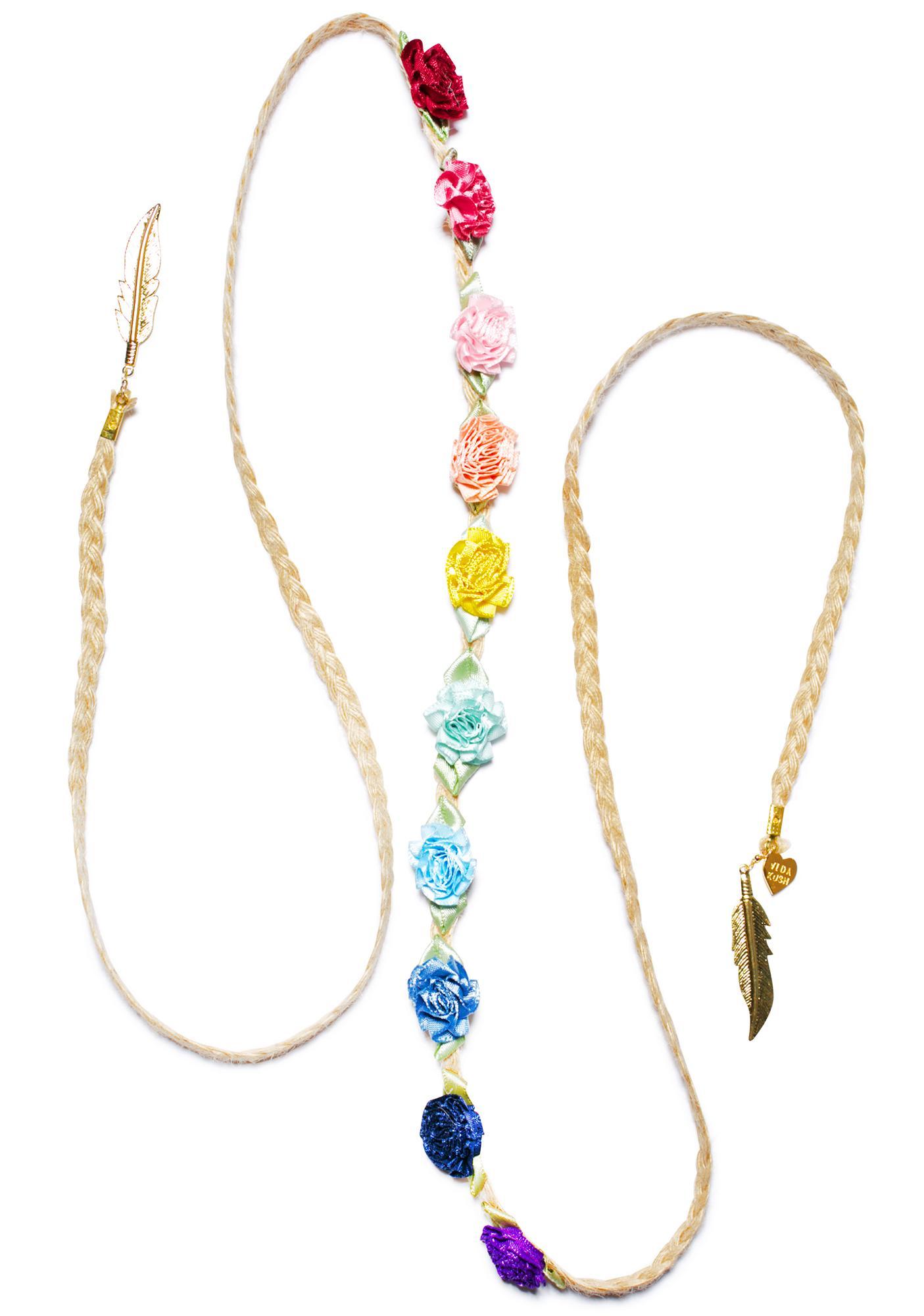 Vidakush Rainbow Marigold Headband