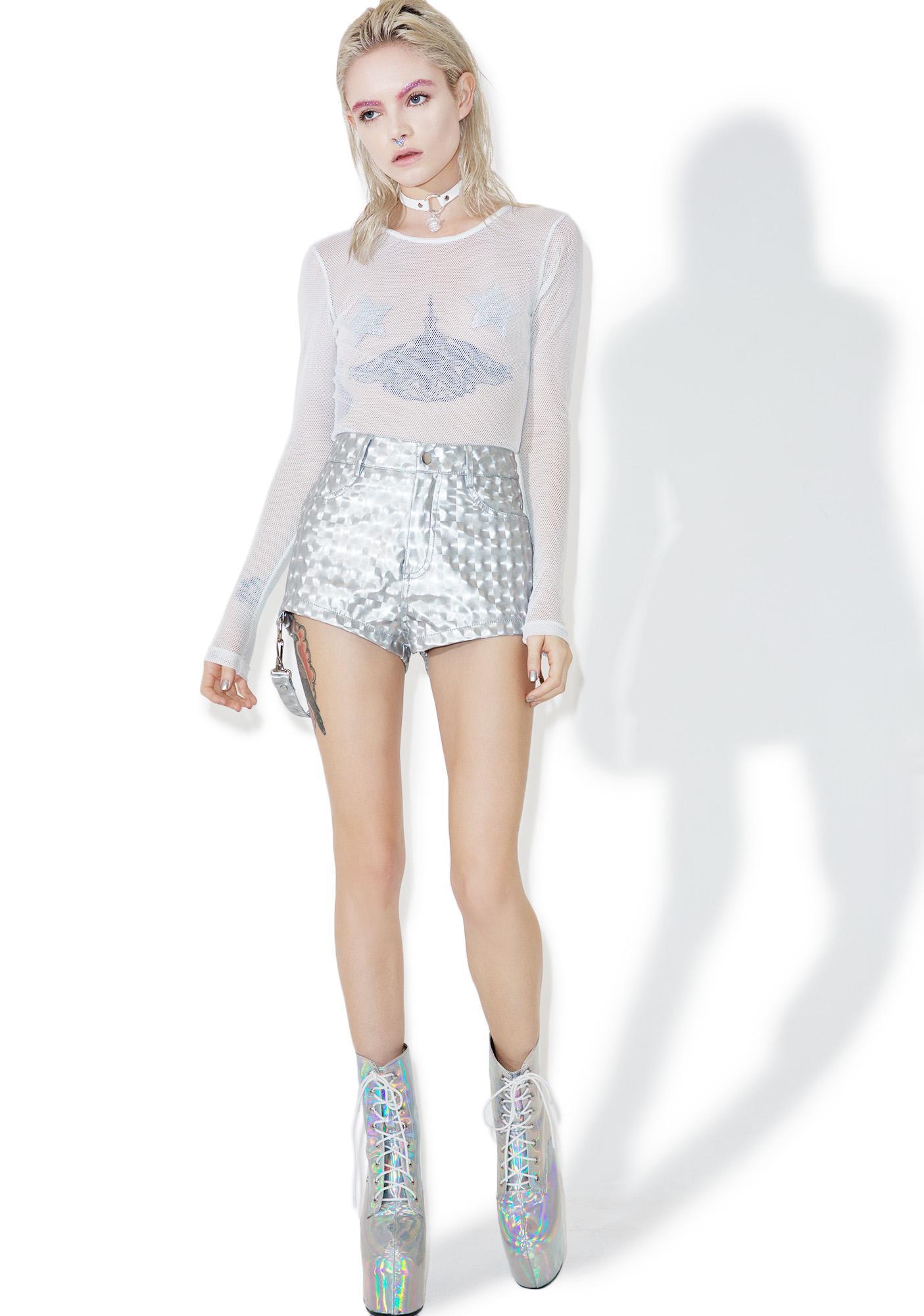 Current Mood Hyperion Hologram Shorts