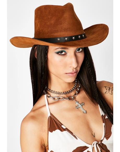 Cognac On The Crossroads Cowboy Hat