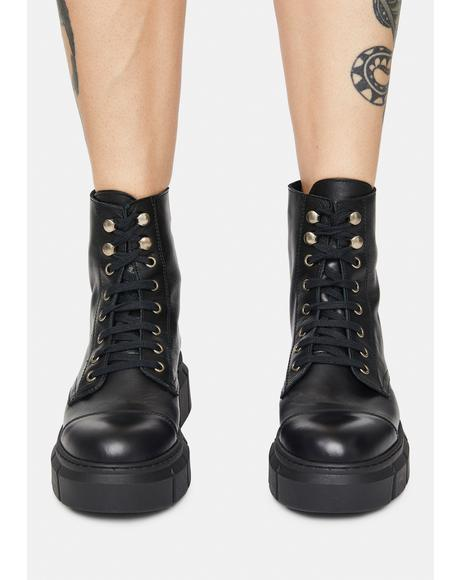 Danube Leather Booties