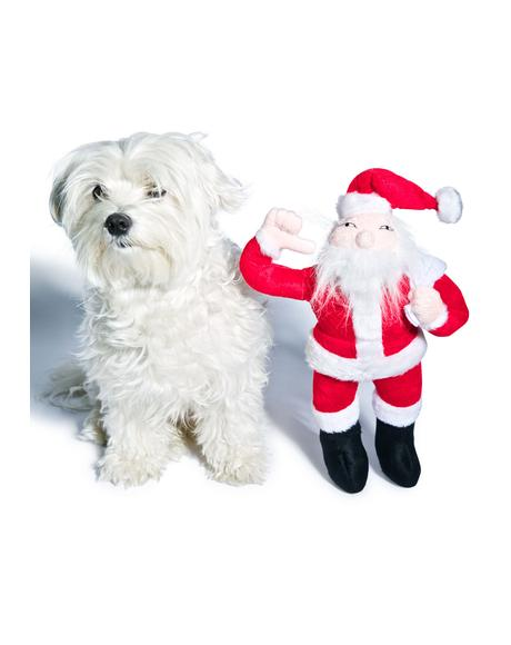 Artic Santa Dog Toy