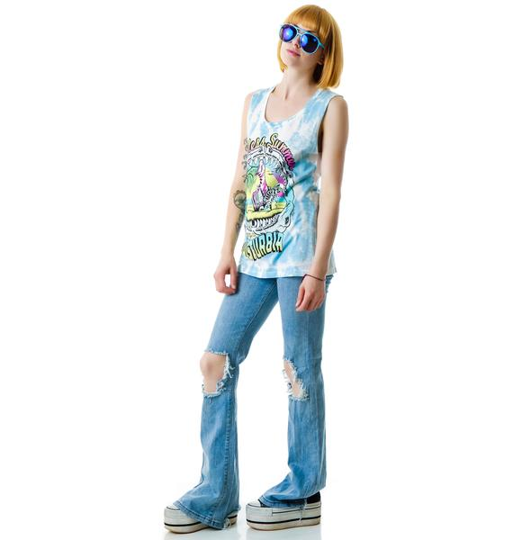 Disturbia Endless Summer Tie Dye Tank